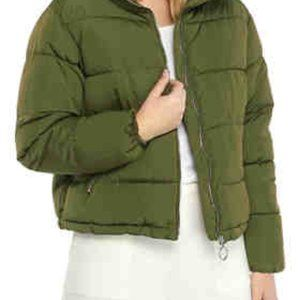 THE LIMITED   Women's  Mock Neck Puffer Coat S